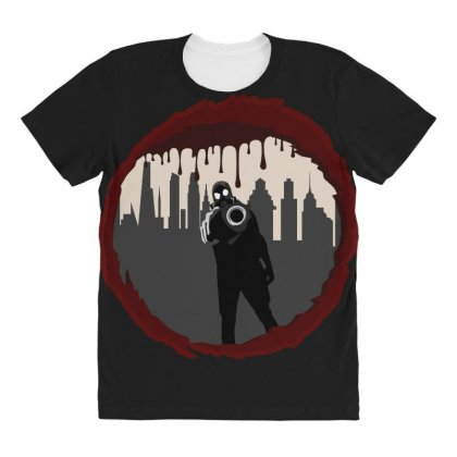 Zombie Control (shooter) All Over Women's T-shirt Designed By Andr1