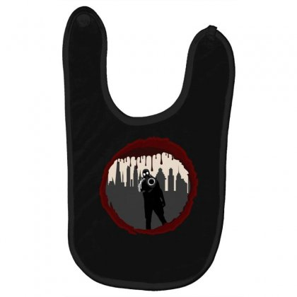Zombie Control (shooter) Baby Bibs Designed By Andr1
