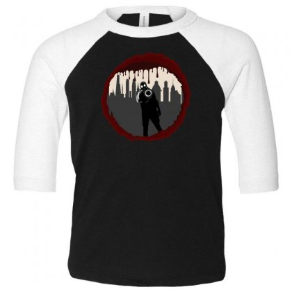 Zombie Control (shooter) Toddler 3/4 Sleeve Tee Designed By Andr1