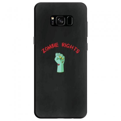 Zombie Rights Samsung Galaxy S8 Case Designed By Andr1
