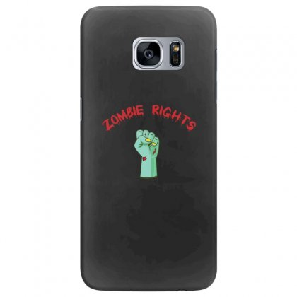 Zombie Rights Samsung Galaxy S7 Edge Case Designed By Andr1