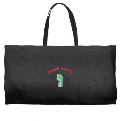 Zombie Rights Weekender Totes Designed By Andr1