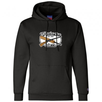 Zombies Tavern Champion Hoodie Designed By Andr1