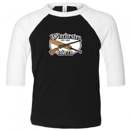 Zombies Tavern Toddler 3/4 Sleeve Tee Designed By Andr1