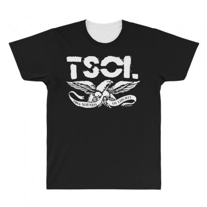 Tsol Eagle All Over Men's T-shirt Designed By Pinkanzee