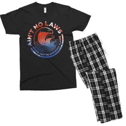 Trevor Wallace White Claw Men's T-shirt Pajama Set Designed By Pinkanzee