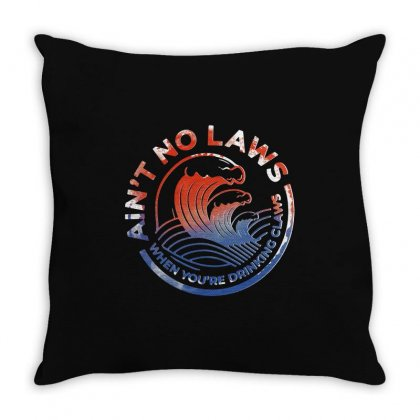 Trevor Wallace White Claw Throw Pillow Designed By Pinkanzee