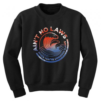 Trevor Wallace White Claw Youth Sweatshirt Designed By Pinkanzee