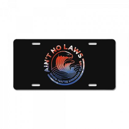 Trevor Wallace White Claw License Plate Designed By Pinkanzee
