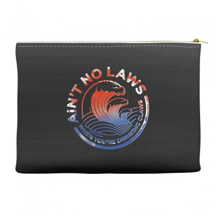 Trevor Wallace White Claw Accessory Pouches Designed By Pinkanzee