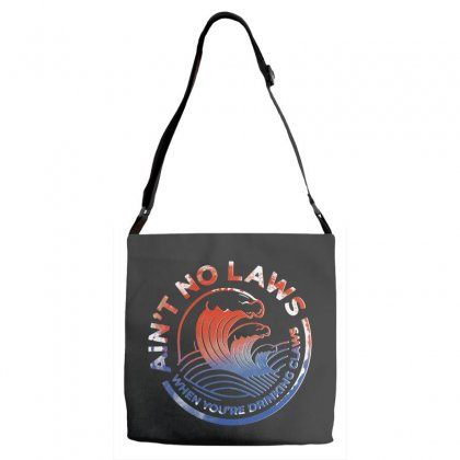 Trevor Wallace White Claw Adjustable Strap Totes Designed By Pinkanzee