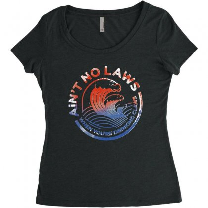 Trevor Wallace White Claw Women's Triblend Scoop T-shirt Designed By Pinkanzee
