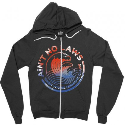 Trevor Wallace White Claw Zipper Hoodie Designed By Pinkanzee