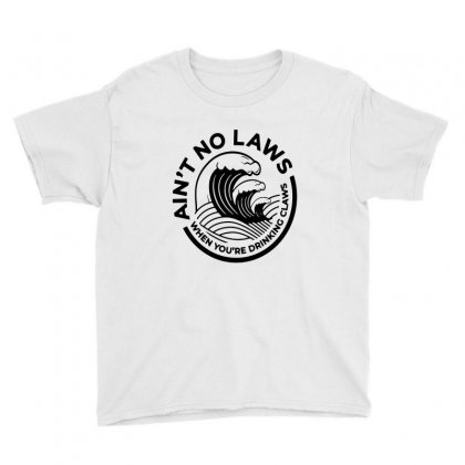 Trevor Wallace White Claw For Light Youth Tee Designed By Pinkanzee