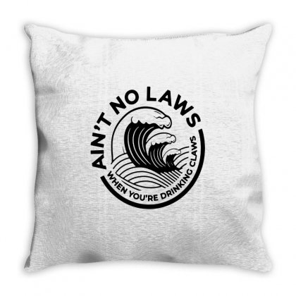 Trevor Wallace White Claw For Light Throw Pillow Designed By Pinkanzee