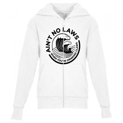 Trevor Wallace White Claw For Light Youth Zipper Hoodie Designed By Pinkanzee
