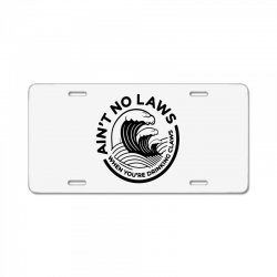 trevor wallace white claw for light License Plate | Artistshot