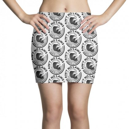 Trevor Wallace White Claw For Light Mini Skirts Designed By Pinkanzee
