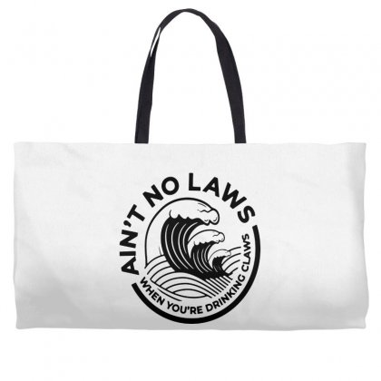 Trevor Wallace White Claw For Light Weekender Totes Designed By Pinkanzee