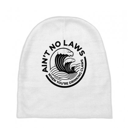 Trevor Wallace White Claw For Light Baby Beanies Designed By Pinkanzee