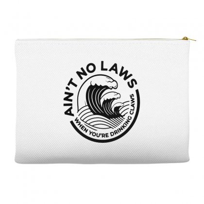 Trevor Wallace White Claw For Light Accessory Pouches Designed By Pinkanzee