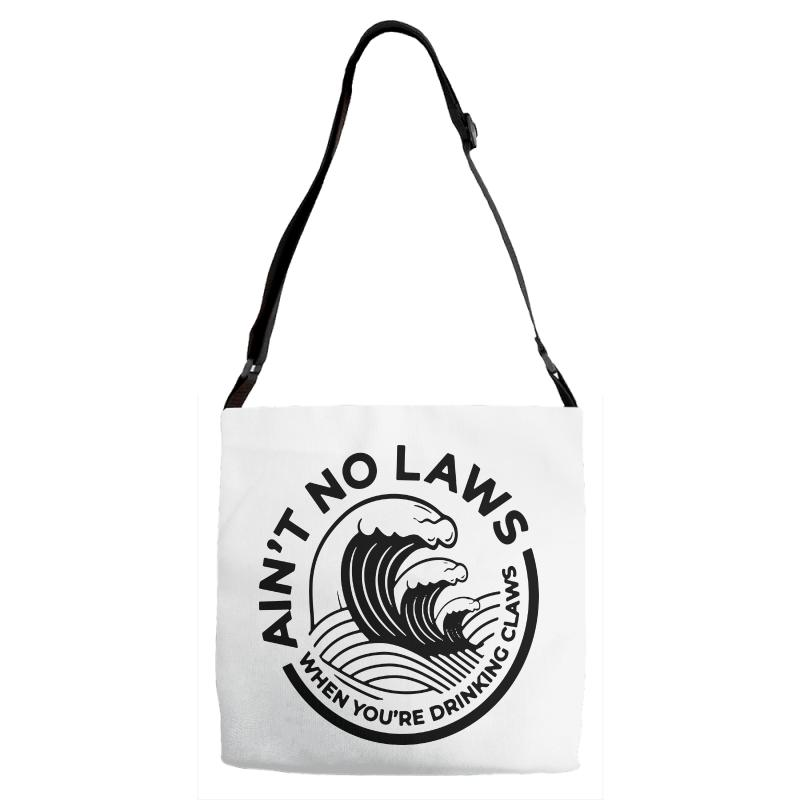 Trevor Wallace White Claw For Light Adjustable Strap Totes | Artistshot