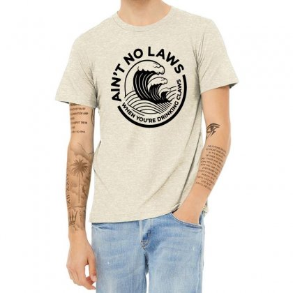 Trevor Wallace White Claw For Light Heather T-shirt Designed By Pinkanzee