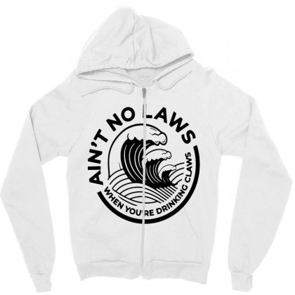 Trevor Wallace White Claw For Light Zipper Hoodie Designed By Pinkanzee