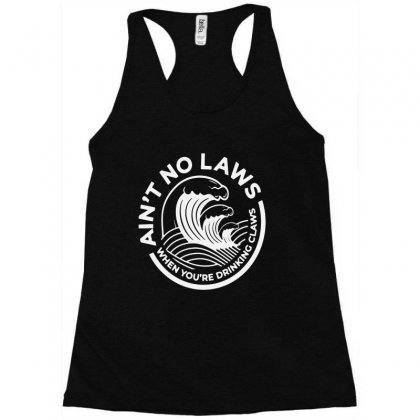 Trevor Wallace White Claw For Dark Racerback Tank Designed By Pinkanzee