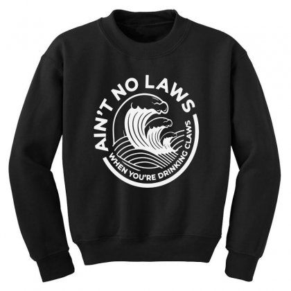 Trevor Wallace White Claw For Dark Youth Sweatshirt Designed By Pinkanzee