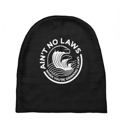 Trevor Wallace White Claw For Dark Baby Beanies Designed By Pinkanzee