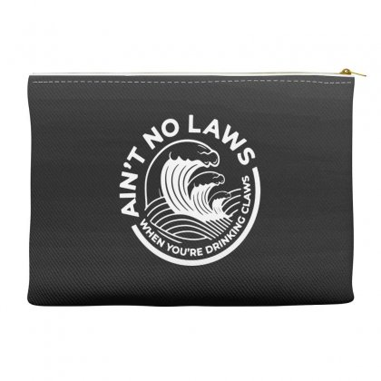 Trevor Wallace White Claw For Dark Accessory Pouches Designed By Pinkanzee
