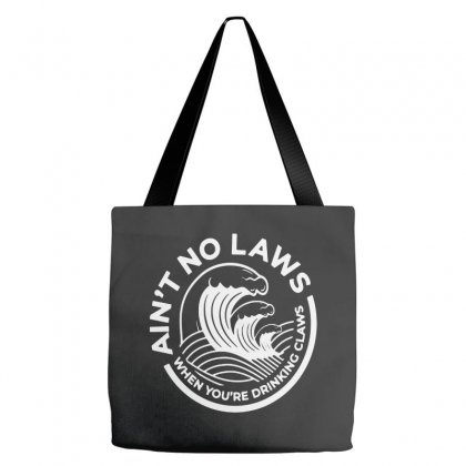 Trevor Wallace White Claw For Dark Tote Bags Designed By Pinkanzee