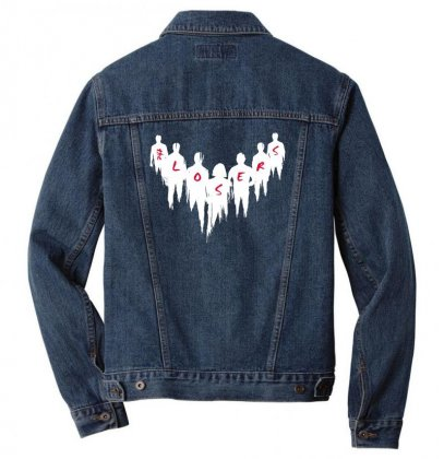 The Losers Men Denim Jacket Designed By Pinkanzee