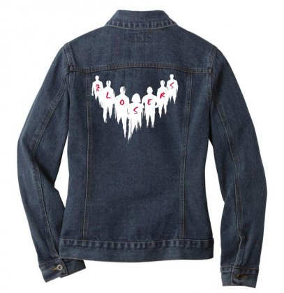 The Losers Ladies Denim Jacket Designed By Pinkanzee