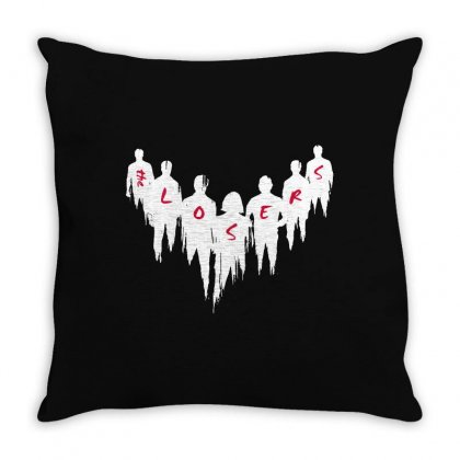 The Losers Throw Pillow Designed By Pinkanzee