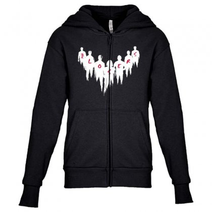 The Losers Youth Zipper Hoodie Designed By Pinkanzee