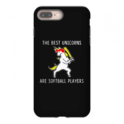 The Best Unicorns Are Softball Player Iphone 8 Plus Case Designed By Pinkanzee