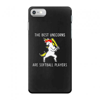 The Best Unicorns Are Softball Player Iphone 7 Case Designed By Pinkanzee