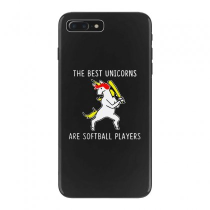 The Best Unicorns Are Softball Player Iphone 7 Plus Case Designed By Pinkanzee