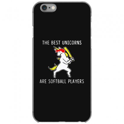 The Best Unicorns Are Softball Player Iphone 6/6s Case Designed By Pinkanzee