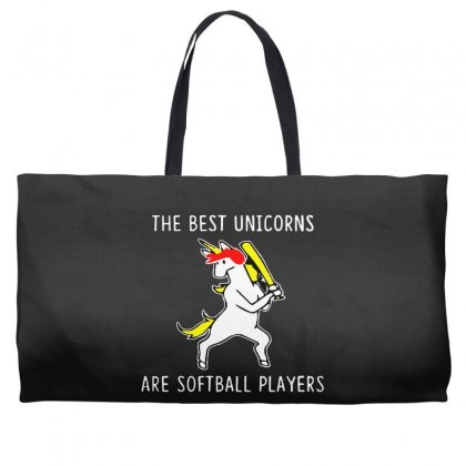 The Best Unicorns Are Softball Player Weekender Totes Designed By Pinkanzee