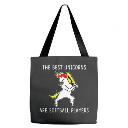 The Best Unicorns Are Softball Player Tote Bags Designed By Pinkanzee
