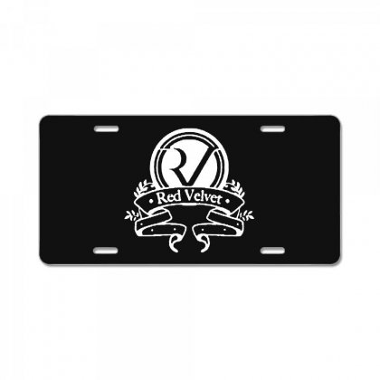 Red Velvet Rv Seal License Plate Designed By Pinkanzee