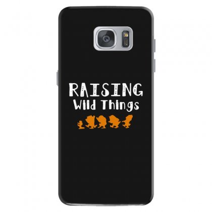 Raising Wild Things Samsung Galaxy S7 Case Designed By Pinkanzee