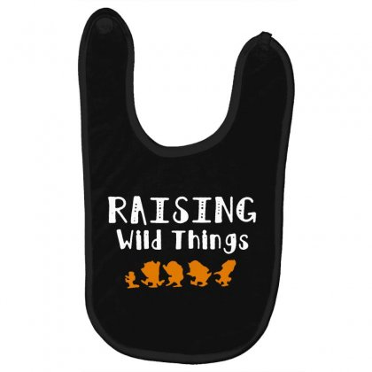 Raising Wild Things Baby Bibs Designed By Pinkanzee