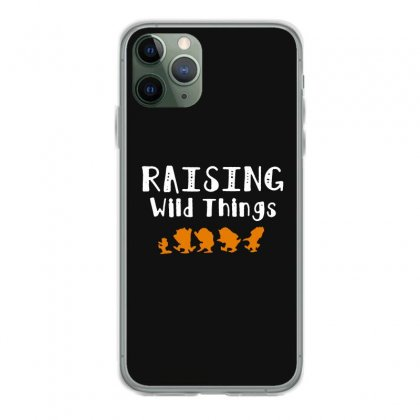 Raising Wild Things Iphone 11 Pro Case Designed By Pinkanzee