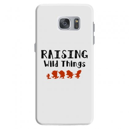 Raising Wild Things Hot Samsung Galaxy S7 Case Designed By Pinkanzee