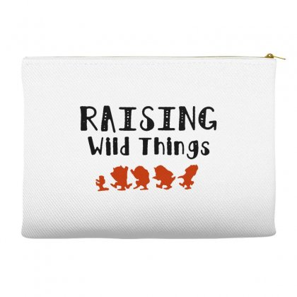Raising Wild Things Hot Accessory Pouches Designed By Pinkanzee