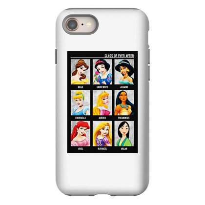 Princess Class Of Ever After Girls Iphone 8 Case Designed By Pinkanzee